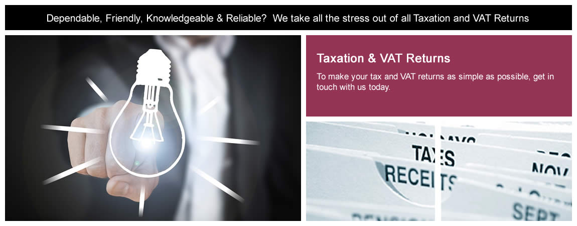 Taxation & VAT Returns in Braintree, Essex